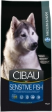 CIBAU Dog Adult Sensitive Fish&Rice 12kg (+ 2kg ZDARMA)