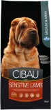 CIBAU Dog Adult Sensitive Lamb&Rice 12kg (+ 2kg ZDARMA)