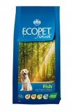Ecopet Natural Adult Fish Mini 12kg (+ 2kg zdarma)