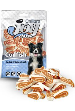 Calibra Joy Dog Classic Cod & Chicken Sushi 80g NEW (Calibra Joy 5+1 ZDARMA)