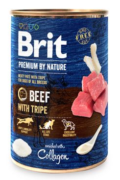 Brit Premium Dog by Nature  konz Beef & Tripes 400g