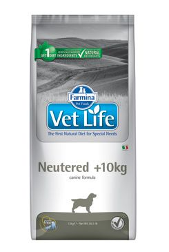 Vet Life Natural DOG Neutered >10kg 2kg