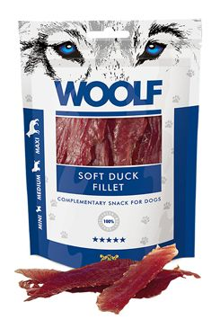 WOOLF pochoutka soft duck fillet 100g