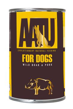 AATU Dog Wild Boar n Pork konz. 400g