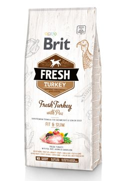 Brit Fresh Dog Turkey & Pea Light Fit & Slim 2,5kg