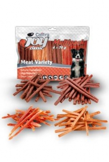 Calibra Joy Dog Multipack Meat Variety Mix 4x70g NEW