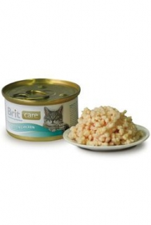 Brit Care Cat konz Kitten kuřecí prsa 80g