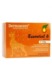 Dermoscent Essential 6 spot-on pes 4x0,6ml do 10kg