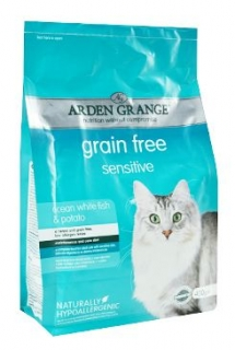 Arden Grange Cat Sensitiv White Fish&Potato 400g