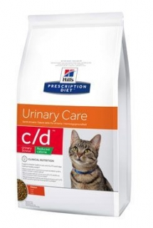 Hill's Fel. C/D Dry Urinary Stress Reduced Cal. 8kg