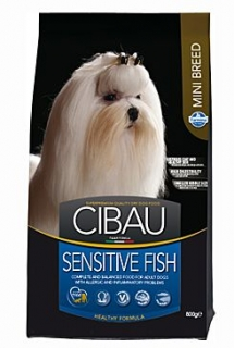 CIBAU Adult Sensitive Fish&Rice Mini 800g