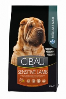 CIBAU Adult Sensitive Lamb&Rice 2,5kg