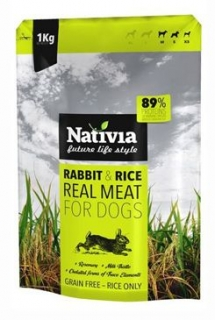 Nativia Real Meat Rabbit&Rice 1kg
