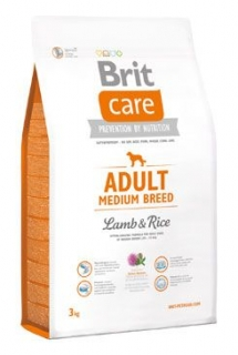 Brit Care Dog Adult Medium Breed Lamb & Rice 3kg