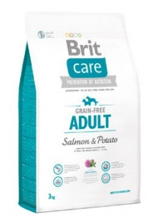 Brit Care Dog Grain-free Adult Salmon & Potato 3kg