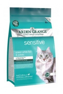Arden Grange Cat Sensitiv White Fish&Potato 4kg