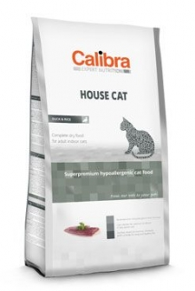 Calibra Cat EN House Cat  7kg (3+1 zdarma)