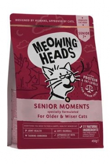 MEOWING HEADS Senior Moments NEW 450g