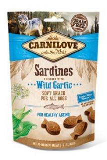 Carnilove Dog Semi Moist Sardines&Wild Garlic 200g