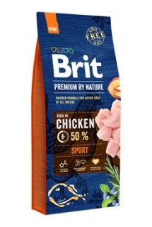 Brit Premium Dog by Nature Sport 15kg