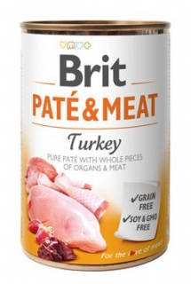 Brit Dog konz Paté & Meat Turkey 400g