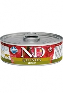 N&D CAT QUINOA Adult Urinary Duck & Cranberry 80g (1+1 ZDARMA)