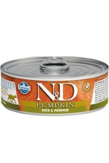 N&D CAT PUMPKIN Adult Duck & Pumpkin 80g (1+1 ZDARMA)