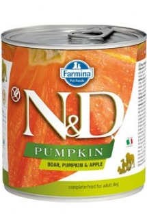 N&D DOG PUMPKIN Adult Boar & Apple 285g