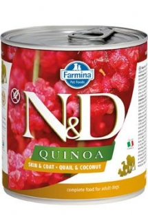N&D DOG QUINOA Quail & Coconut 285g