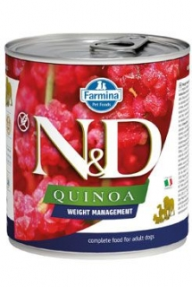N&D DOG QUINOA Weight Mnmgmt Lamb & Brocolli 285g