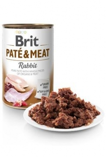 Brit Dog konz Paté & Meat Rabbit 800g