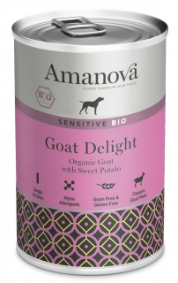 Amanova BIO Dog Goat 400g SENSITIVE GRAIN FREE