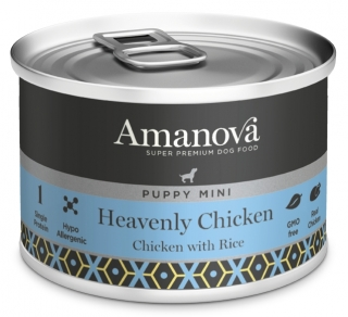 Amanova Dog Puppy Mini Heavenly Chicken 150g