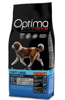OPTIMAnova dog PUPPY LARGE 2x12kg
