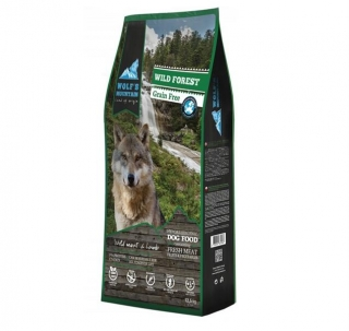 Wolf's Mountain Dog Wild Forest Grain Free 12,5 kg