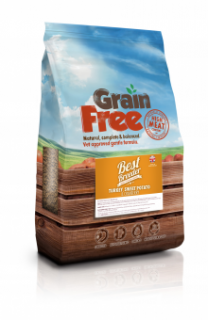 Best Breeder Grain Free Turkey, Sweet Potato & Cranberry 12kg