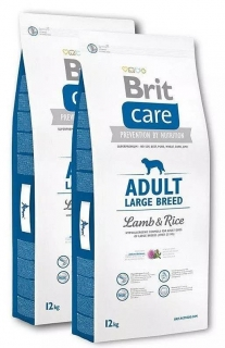 Brit Care Dog Adult Large Breed Lamb & Rice 2x12kg