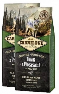 Carnilove Dog Adult Duck & Pheasant  2x12kg
