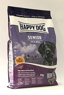 Happy Dog Supreme Fit&Well Senior 4kg
