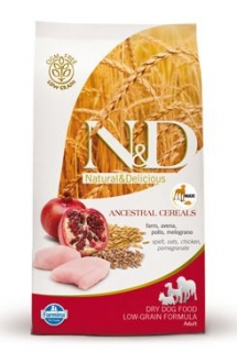 N&D Low Grain DOG Adult Maxi Chicken & Pomegr 2,5kg