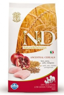 N&D Low Grain DOG Adult Chicken & Pomegranate 800g