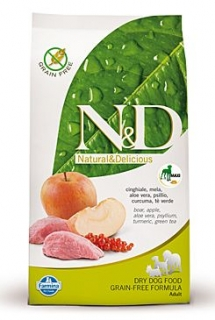 N&D Grain Free DOG Adult Maxi Boar & Apple 2x 12kg