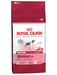 Royal canin Kom. Medium Junior  4kg