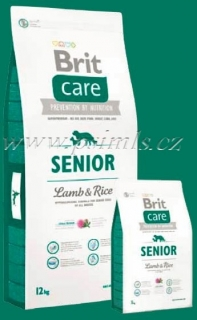 Brit Care Dog Senior Lamb & Rice 2x12kg