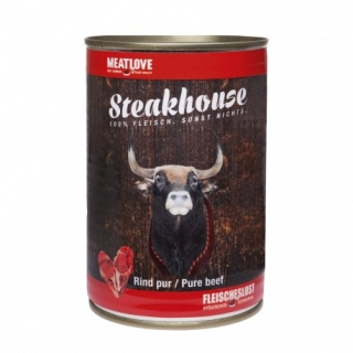 Meatlove Steakhouse 100 % PURE konzerva BEEF 400g