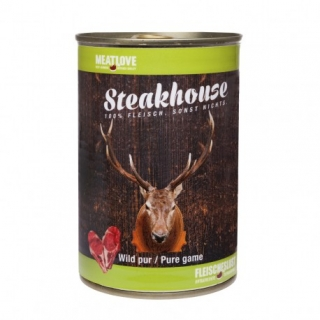 Meatlove Steakhouse 100 % PURE konzerva GAME 400g