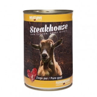 Meatlove Steakhouse 100 % PURE konzerva GOAT 400g