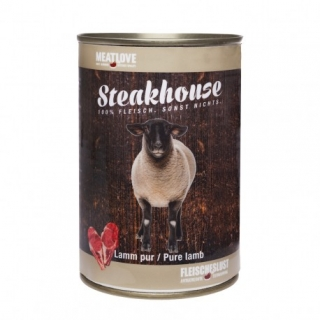 Meatlove Steakhouse 100 % PURE konzerva LAMB 400g