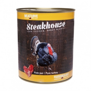 Meatlove Steakhouse 100 % PURE konzerva TURKEY 400g