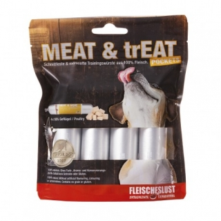 Meatlove Meat & Treat Poultry 4x40g